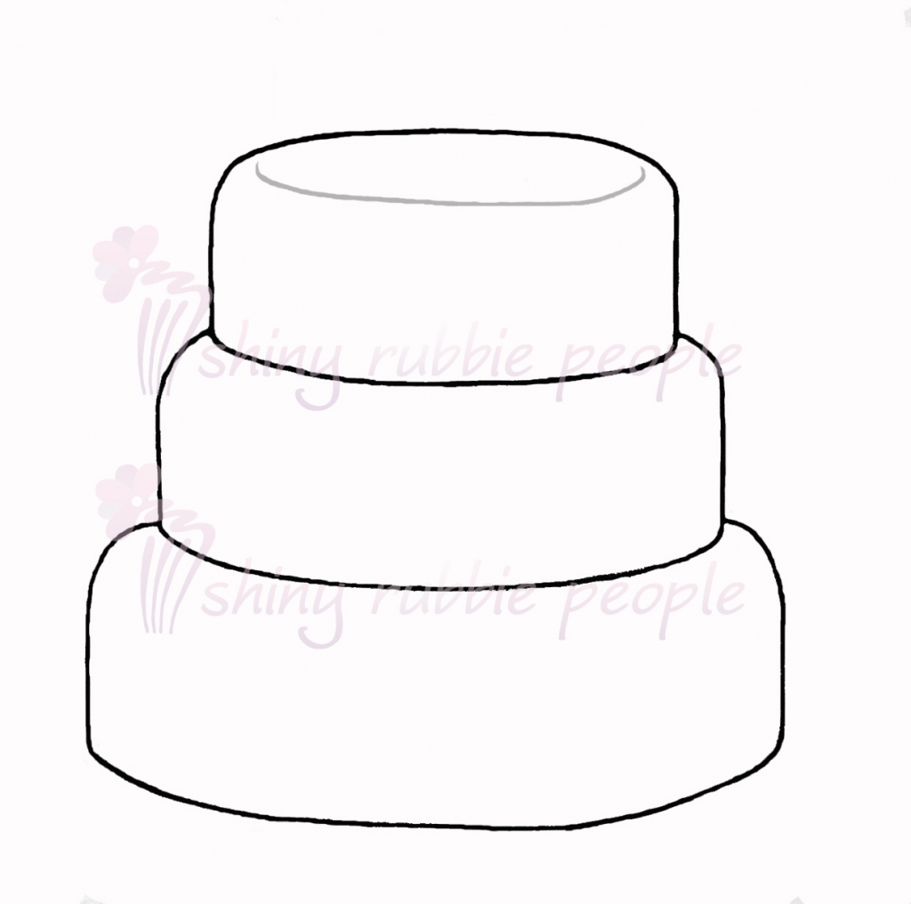 Cake clipart layered cake.  layer clipartxtras within