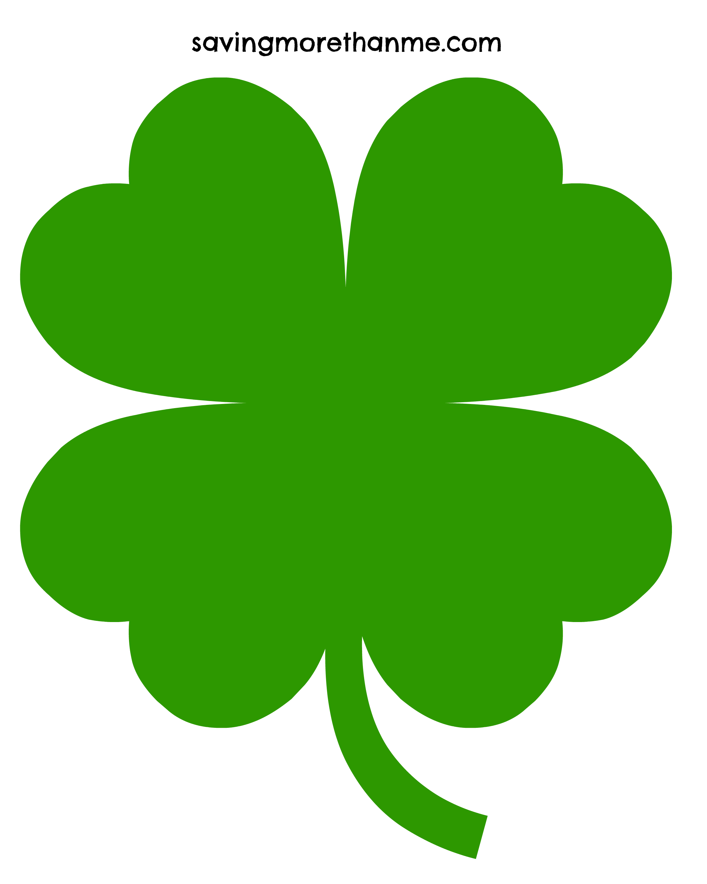 3 clipart leaf clover. Free clip art pictures