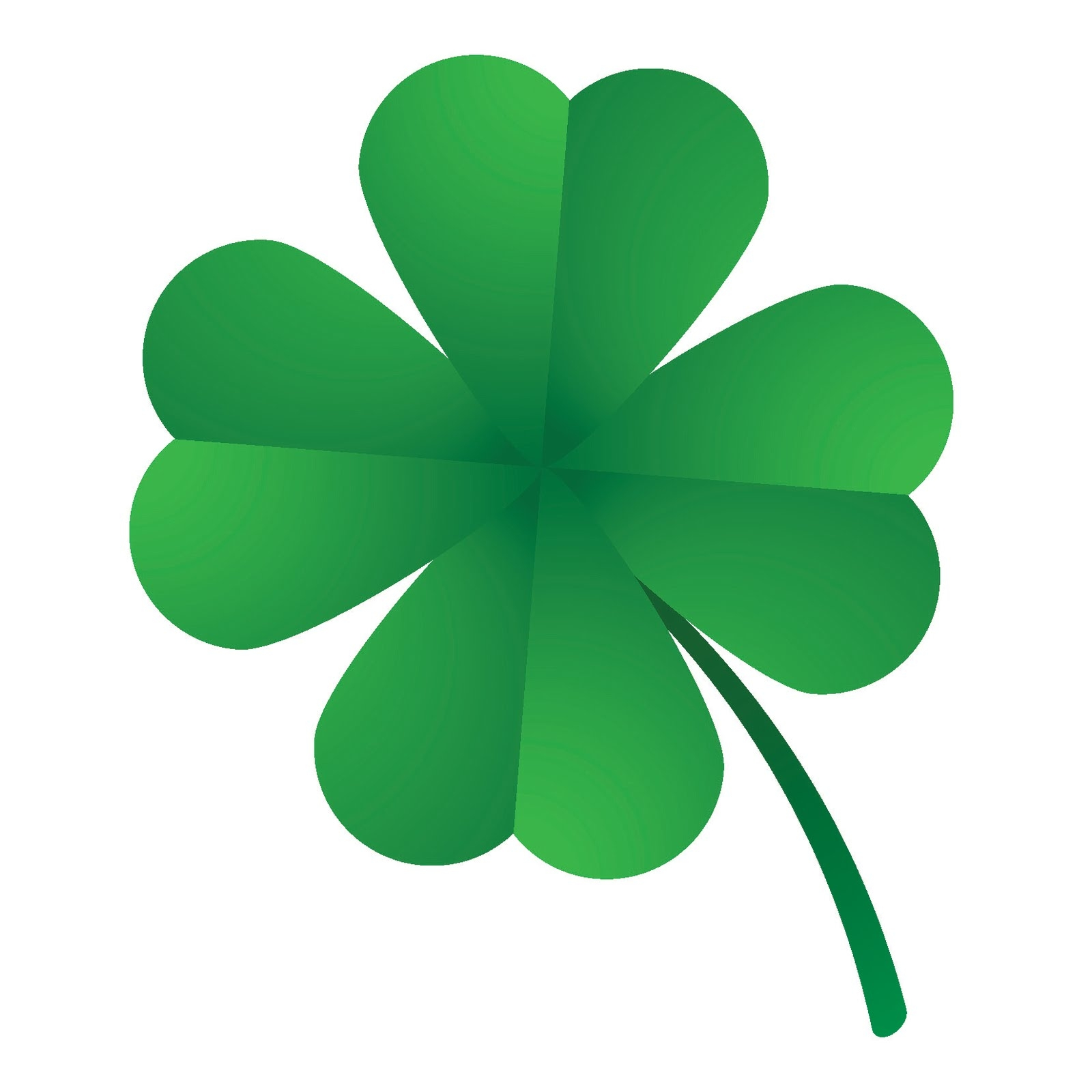 Best of four gallery. 3 clipart leaf clover