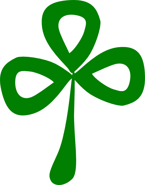 3 clipart leaf clover. Three clip art at