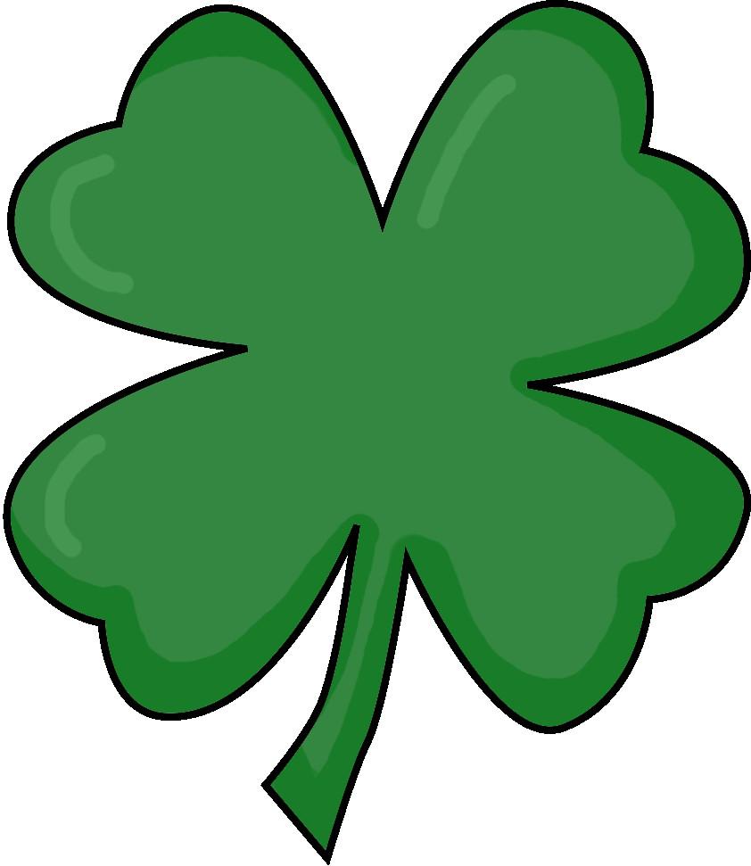 3 clipart leaf clover.  clipartuse popular image