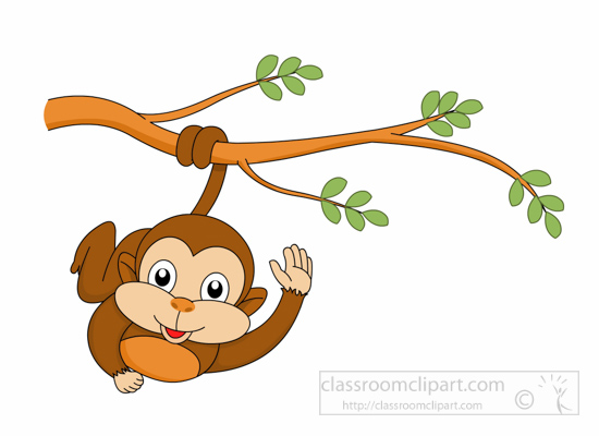 Free clip art pictures. 3 clipart monkey