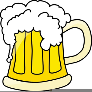 Foaming beer free images. 3 clipart mug