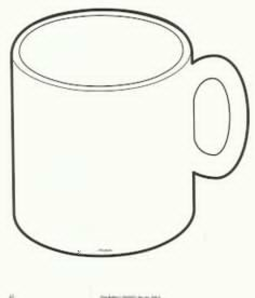 Mug clipart mug outline. Free images at clker