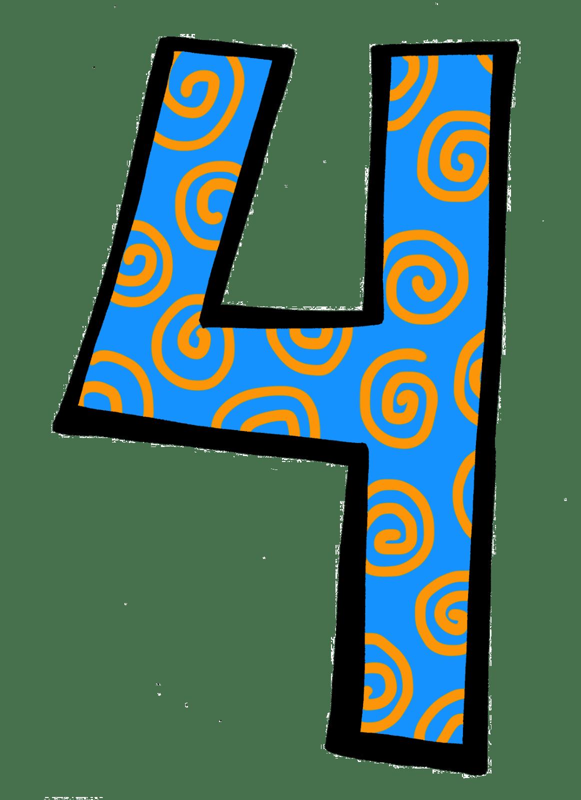 3 clipart number 4. Portal