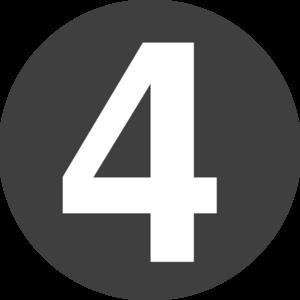 3 clipart number 4. Design clip art at