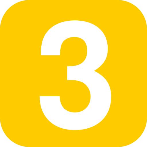3 clipart number 4.  collection of numbers