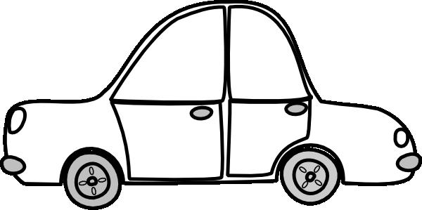 Car clip art item. 3 clipart outline