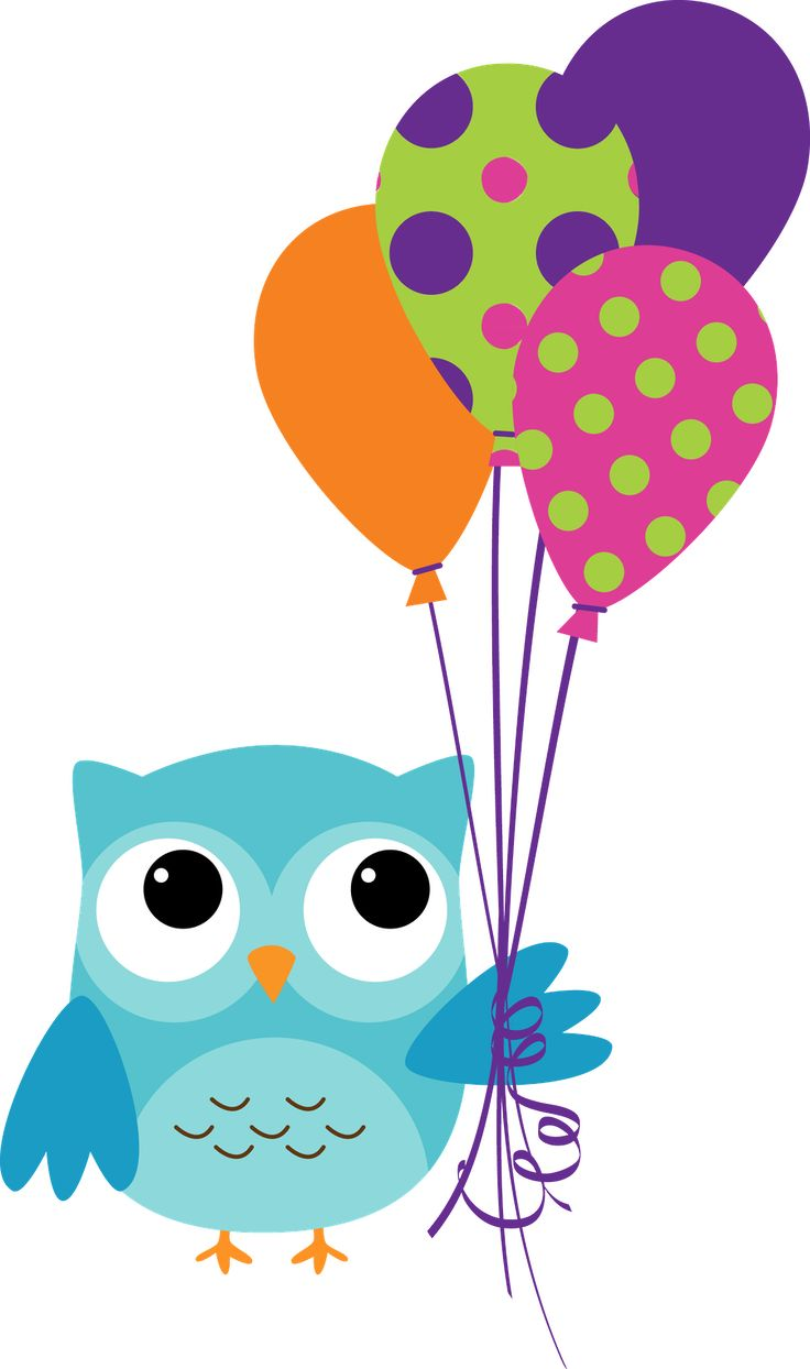 3 clipart owl.  best birthday images