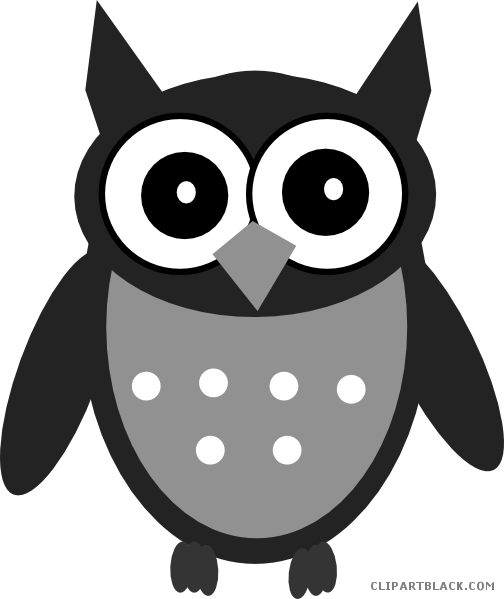 3 clipart owl. Cute page of clipartblack