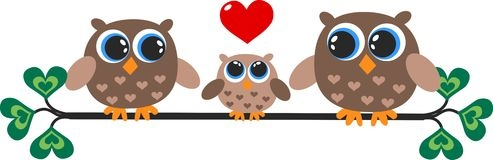3 clipart owl. Free family cliparts download