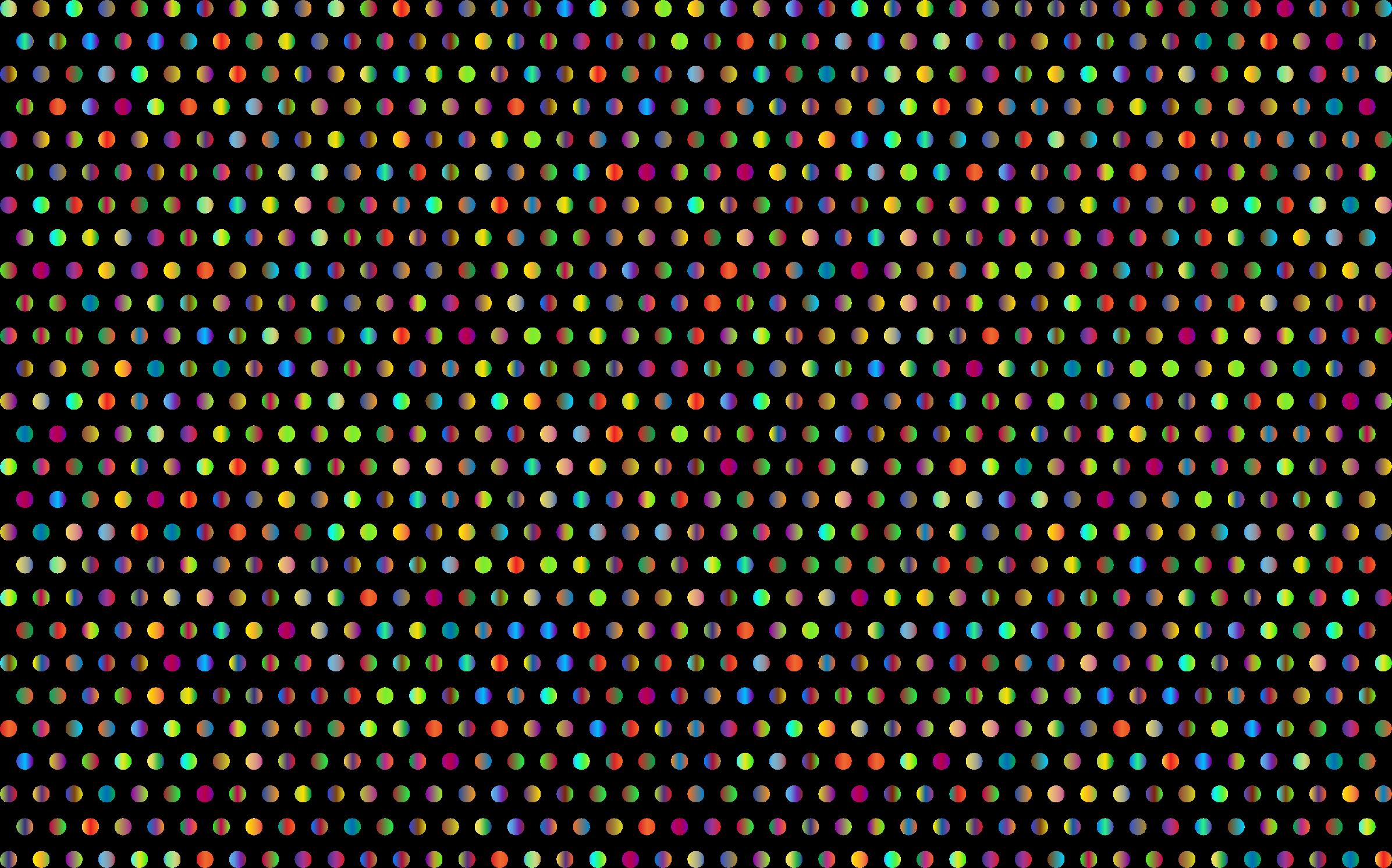 3 clipart polka dot. Prismatic dots mark ii