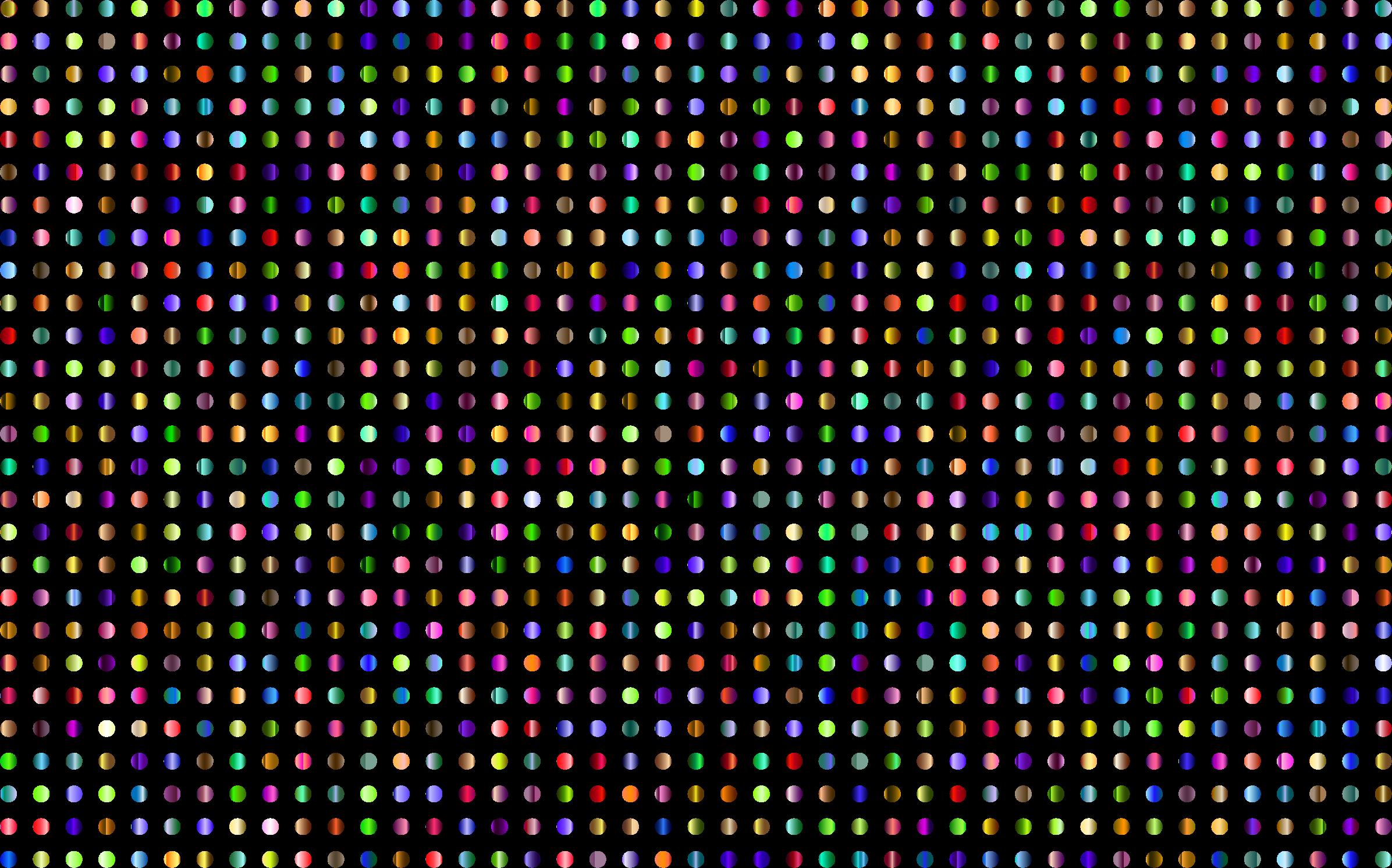 3 clipart polka dot. Prismatic dots no background