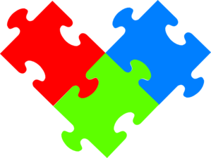 Piece . 3 clipart puzzle