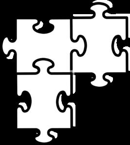 3 clipart puzzle. Clipartmonk free clip art