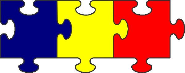 3 clipart puzzle. Free clipartmansion com piece