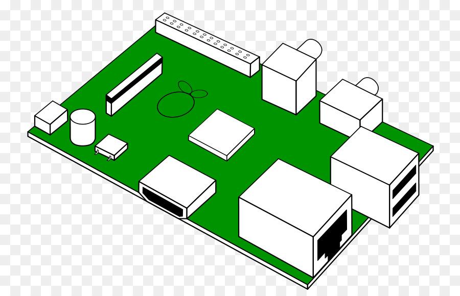 3 clipart raspberry pi. Printed circuit board sonic