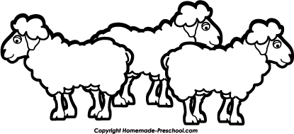 3 clipart sheep. Free nativity click to
