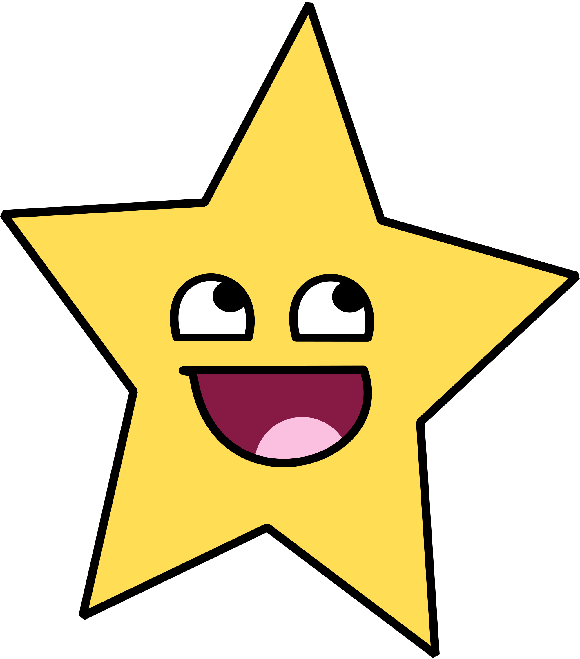 Shooting star cartoon shop. Clipart stars student