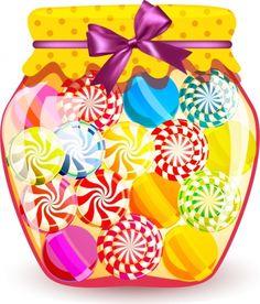 3 clipart sweet. Jar clasa pinterest jars