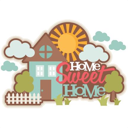 Home title svg scrapbook. 3 clipart sweet