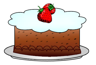 3 clipart sweet. Foods station