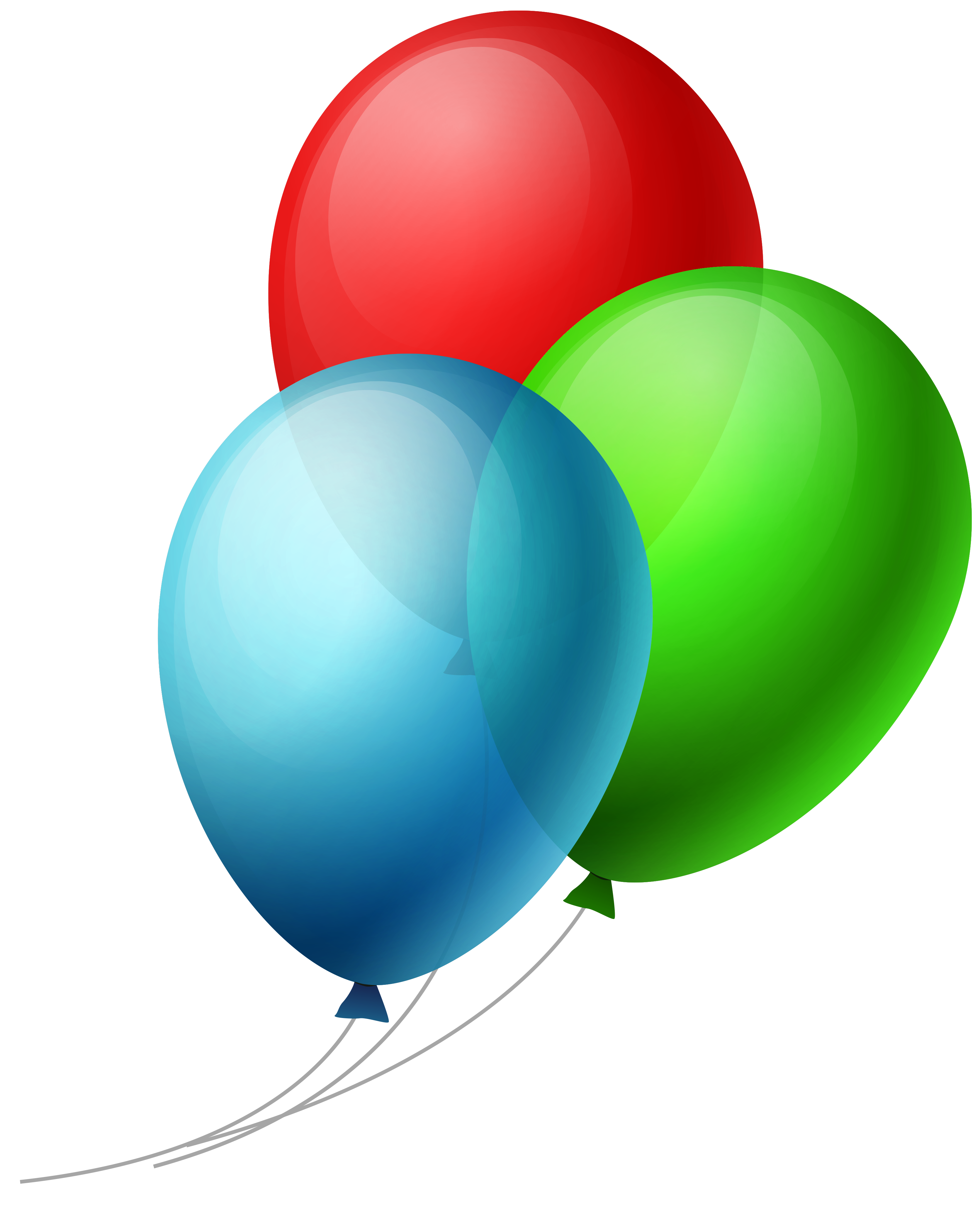 Transparent three balloons png. Clipart balloon chalkboard