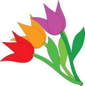 3 clipart tulip. Faith clip art free