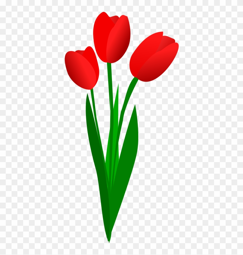 3 clipart tulip. Red portal