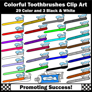 Toothbrush toothpaste for dental. 3 clipart unit