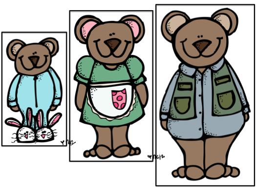 Bears clipart three bears. Little