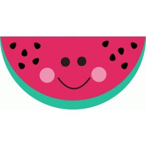 Silhouette design store view. 3 clipart watermelon