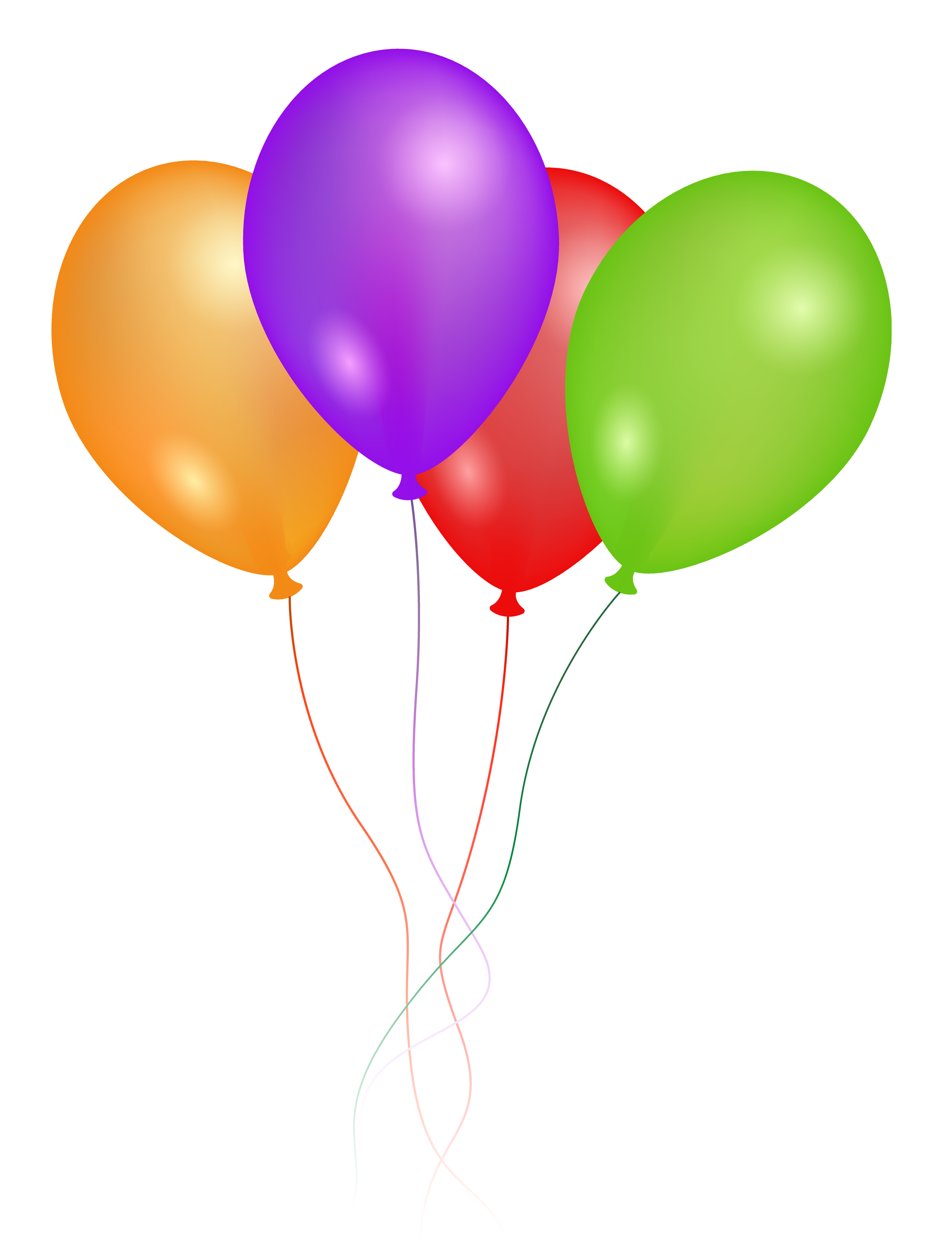 Balloon free png transparent. Clipart balloons four