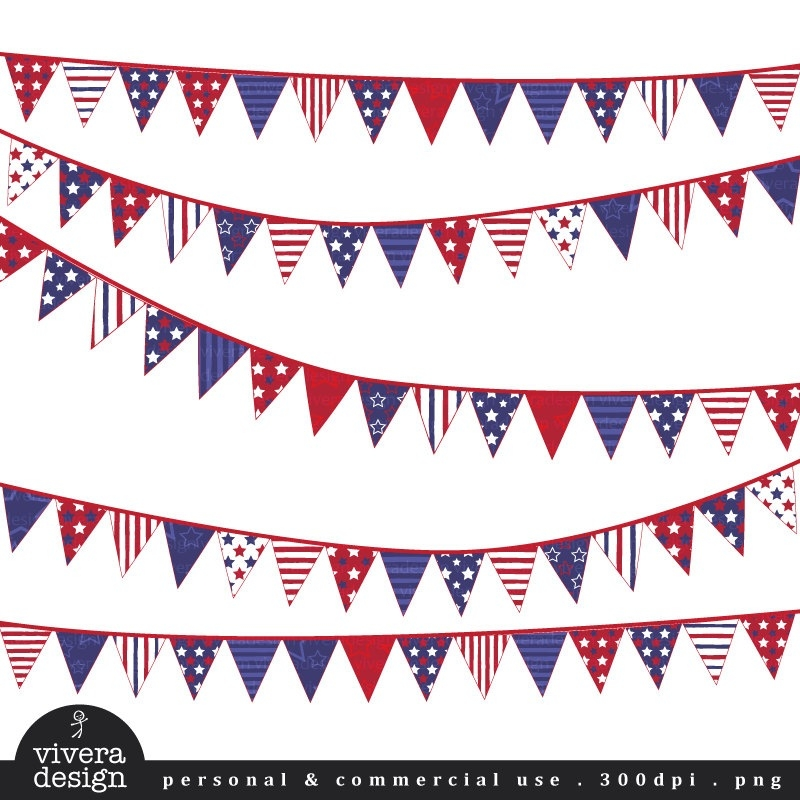 th of july. 4 clipart banner