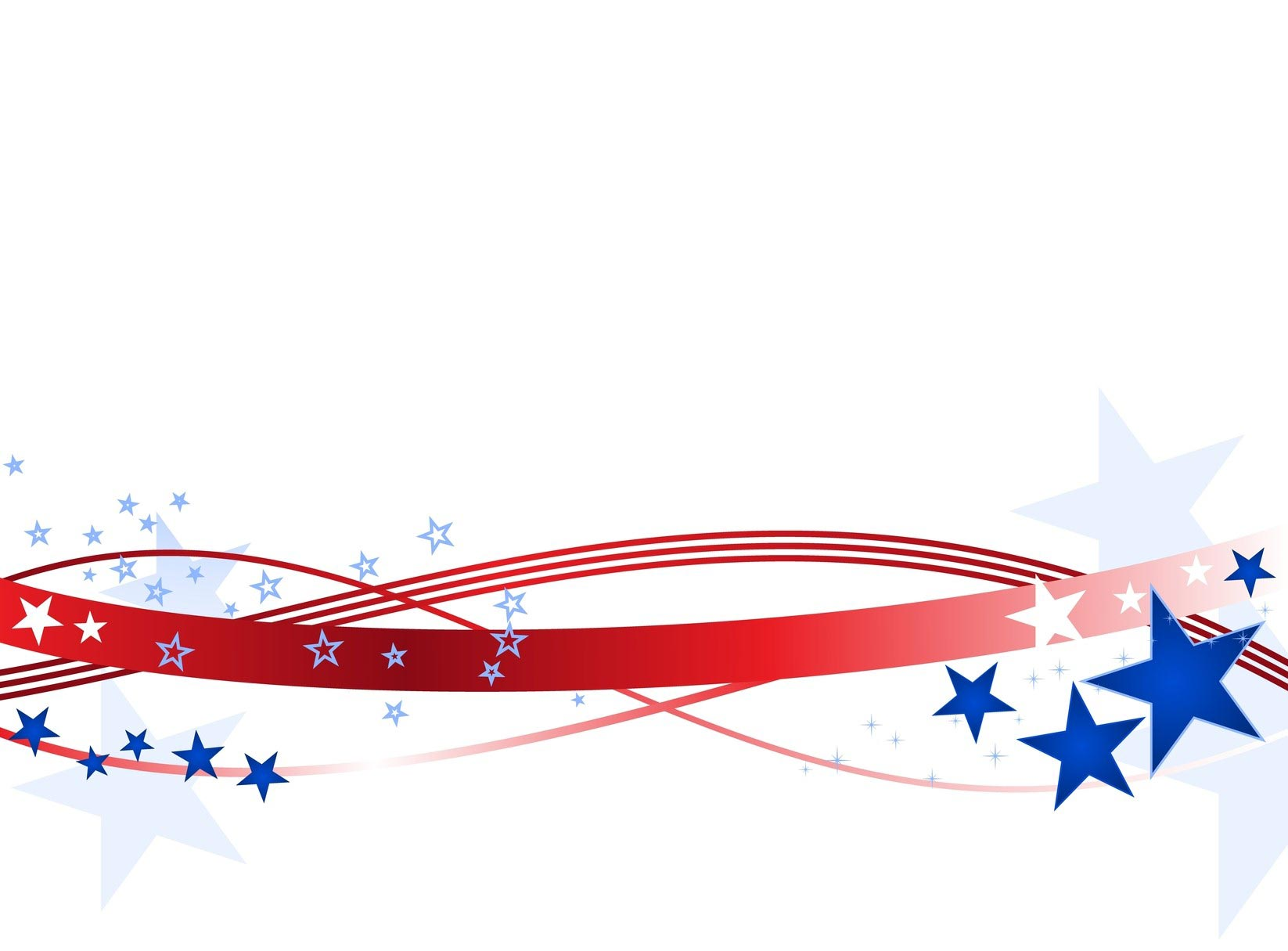 Fireworks clipart banner. Free july cliparts borders