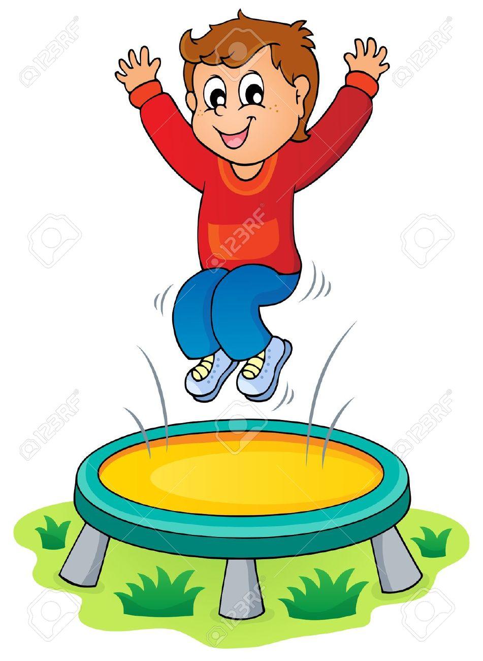 Boy jump clip art. Jumping clipart