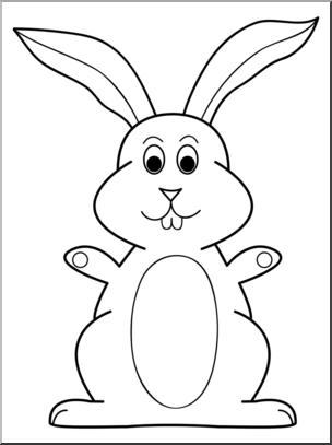 4 clipart bunny. Clip art cartoon b