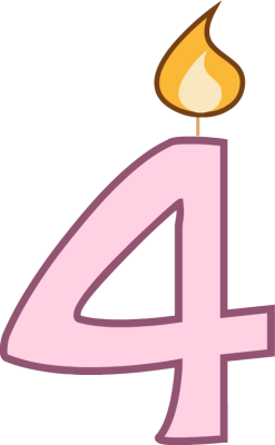 1 clipart birthday candle.  candles