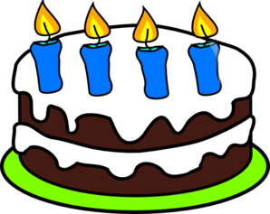 Cake candles clip art. 4 clipart candle