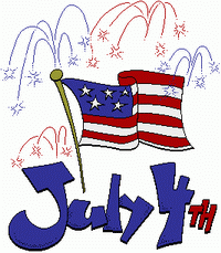 4 clipart clip art. Free th of july