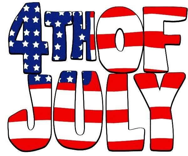4 clipart clip art. Happy th of july