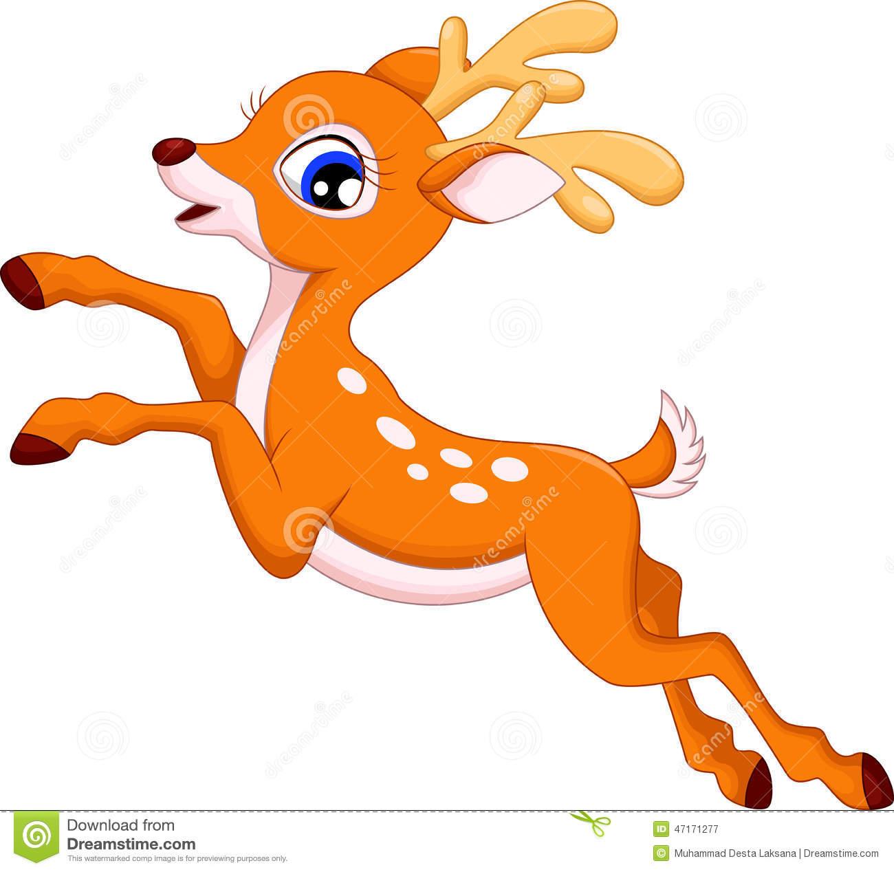 Deer station . 4 clipart cute