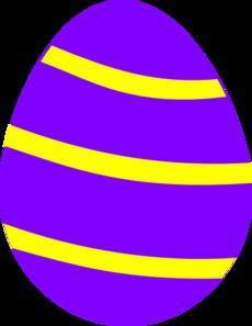 Fuschia . 4 clipart easter egg