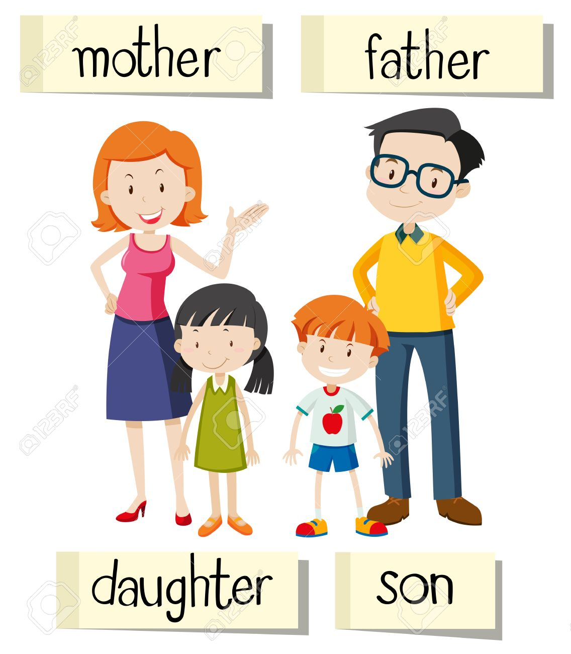 Members free download best. Father clipart family member