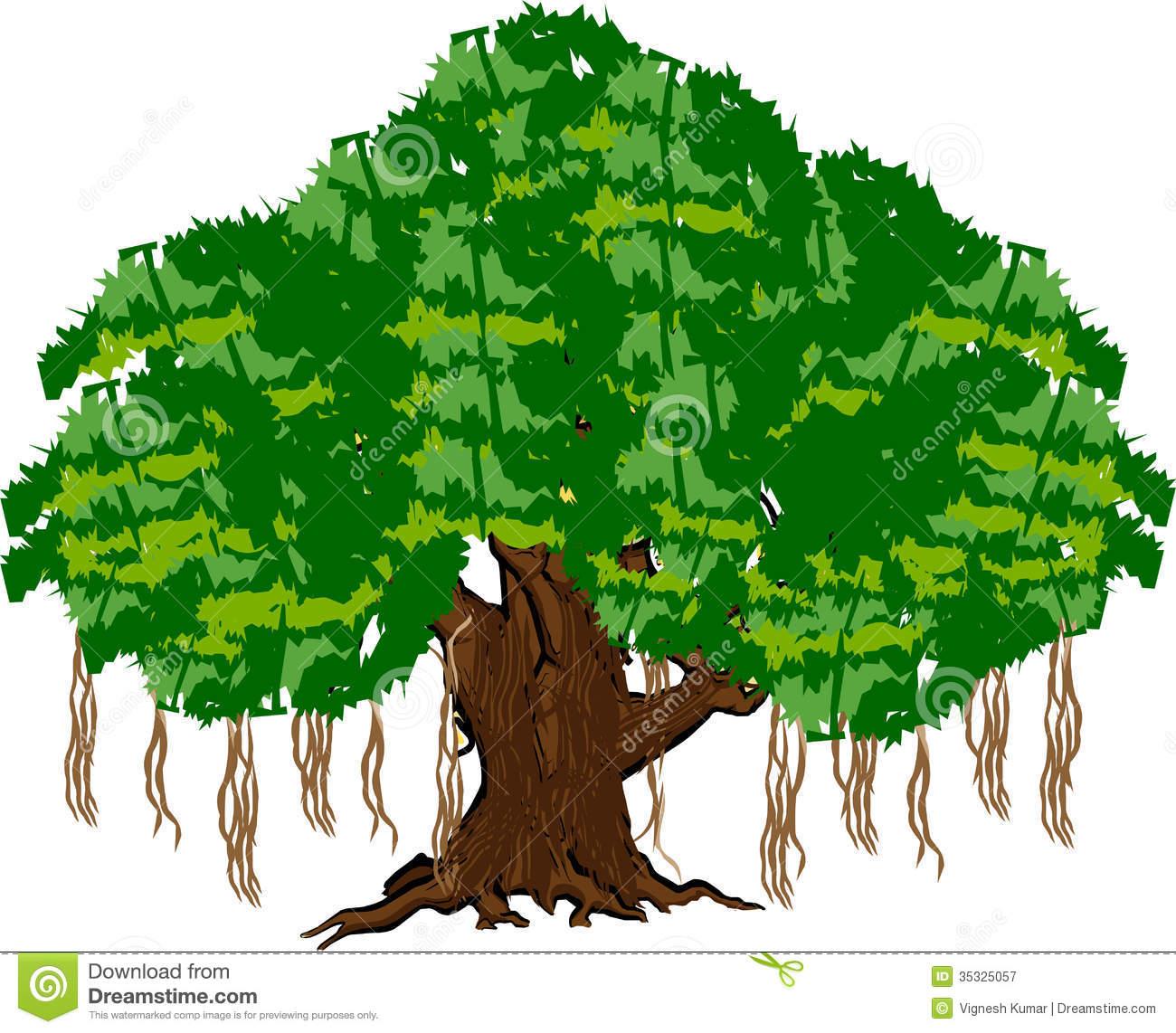 Peepal tree station . 4 clipart green