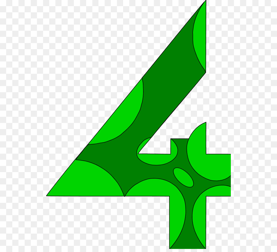 4 clipart green. Number free content clip