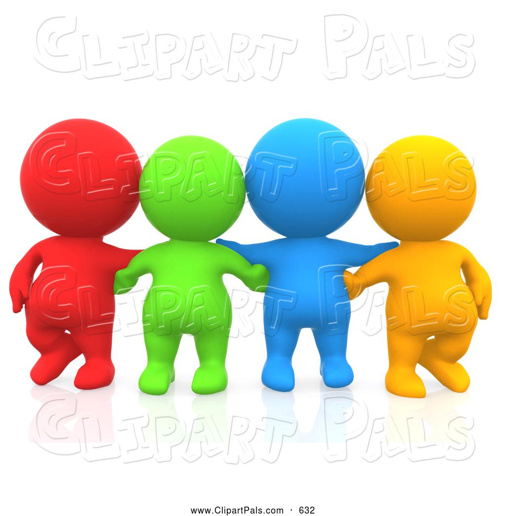 Huddle Clip Art - Royalty Free - GoGraph