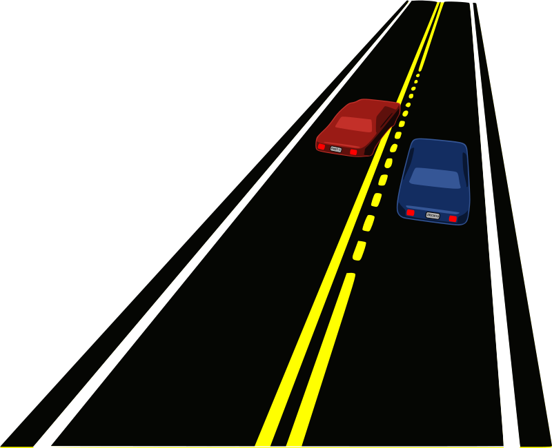 collection of high. 4 clipart lane road