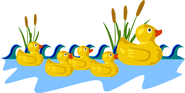 Clip art black and. 7 clipart duck