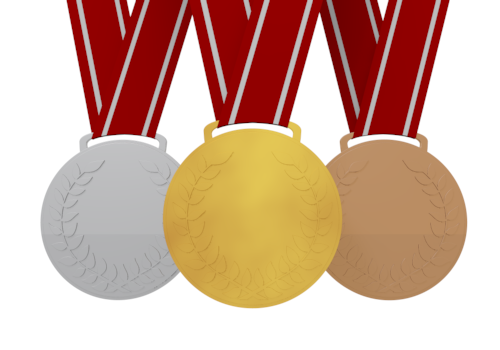 Gold station . 4 clipart medal